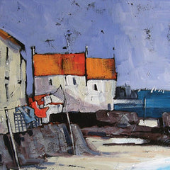 Pittenweem Washline Card