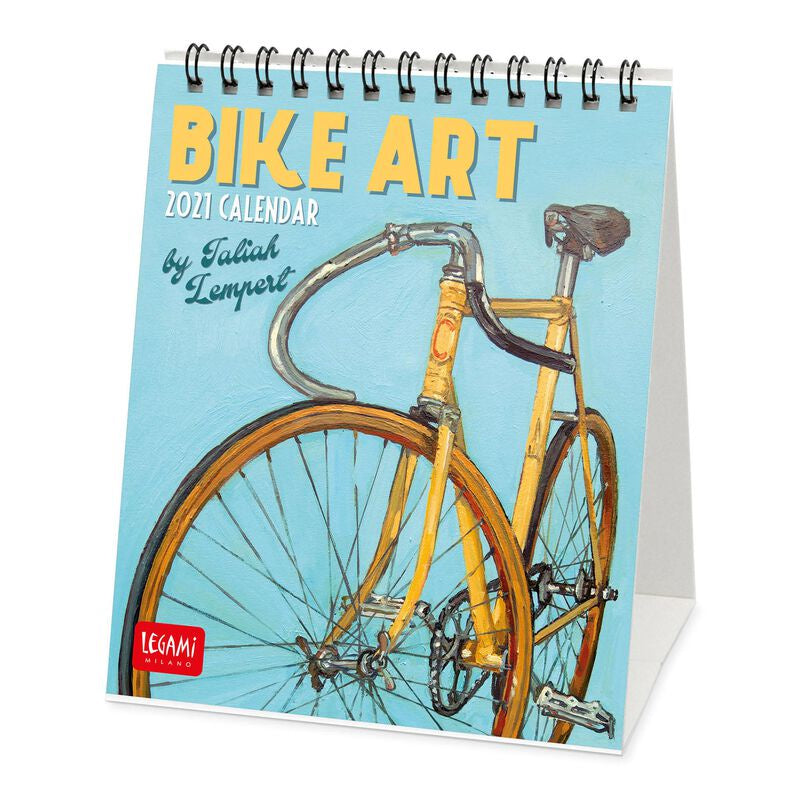 Bike Art 2021 Desk Calendar