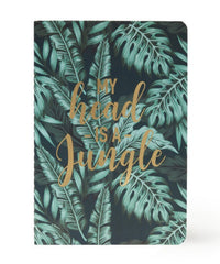 My Head is a Jungle A6 Ruled Notebook
