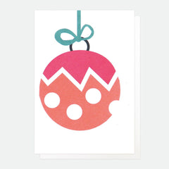 MERRY CHRISTMAS NEON BAUBLE PACK OF 5