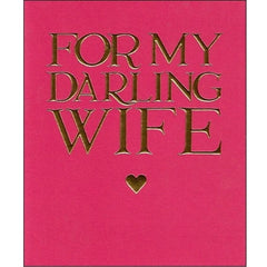 Emma Bridgewater for my Darling Wife Valentine's Day Card