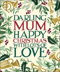 Emma Bridgewater Darling Mum Christmas Card
