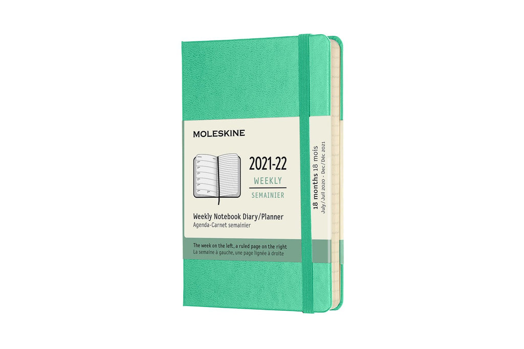 2021-22 Weekly Planner Pocket Hardcover Mint