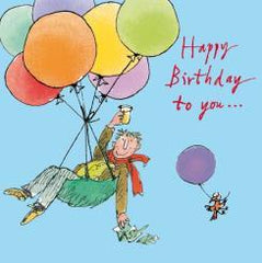 Happy Birthday to You Balloons Card