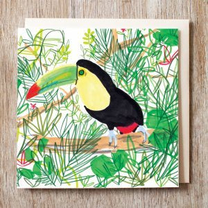 Toucan In The Jungle Card