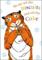 Tiger Biscuits and Cake Card