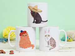 Cats in Hats Mug
