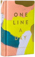 One Line a Day Five Year Memory Book Bright Cover