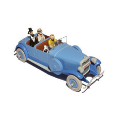 Tintin Blue Lincoln Torpedo