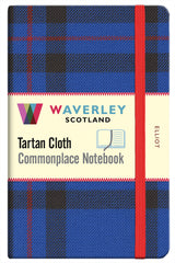 Tartan Cloth Notebook-Elliot