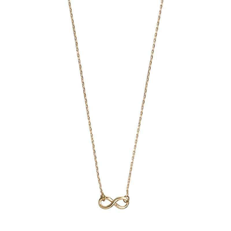 New Infinity Necklace Gold