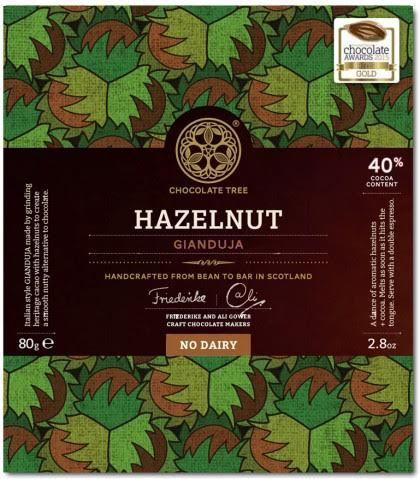 Vegan Bean to Bar No Dairy Chocolate Hazelnut 40%