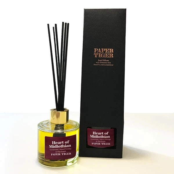Paper Tiger Heart of Midlothian Geranium, Sweet Orange  & Patchouli Diffuser