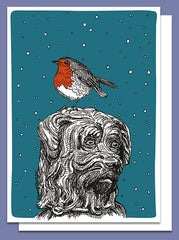 Robin and Bobby Christmas Card