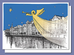 Leith Angel Christmas Card