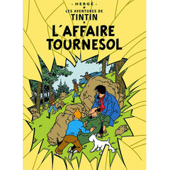 L'Affaire Tournesol Tintin Postcard