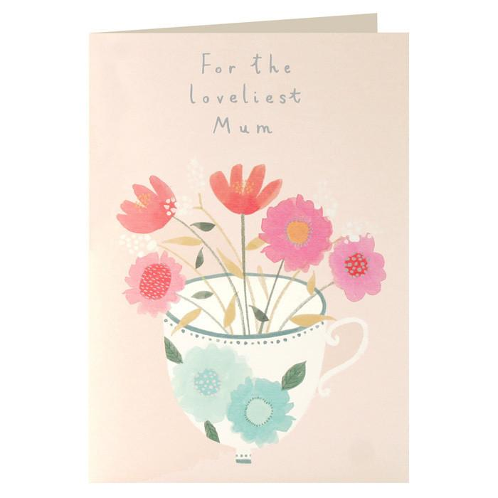 For The Loveliest Mum Mother's Day Card