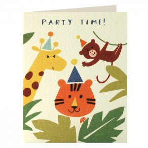 Jungle Invitation Pack of 5 Cards