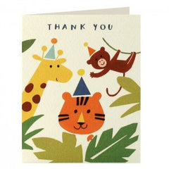 Jungle Thank You Pack of 5 Cards