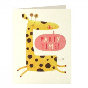 Giraffe Invitation Pack of 5 Cards