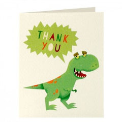 Dinosaur Thank You Pack of 5 Cards