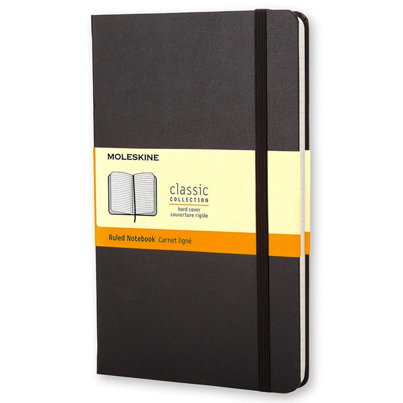 Moleskine Pocket Ruled Notebook Black