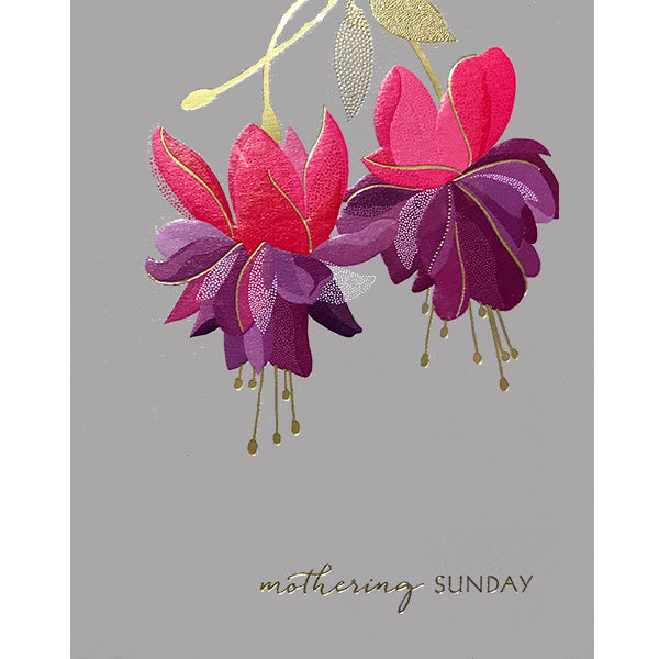 Mothering Sunday Flowers Card