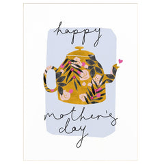 Teapot Happy Mother's Day Card