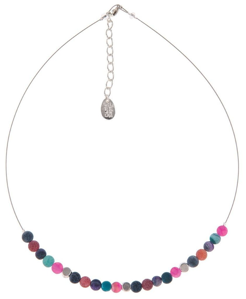 Carrie Elspeth Agate Medley Links Necklace
