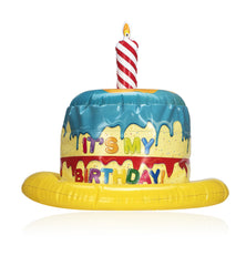 Children's 'It's My Birthday' Inflatable Cake Hat