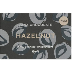 Hazelnut Organic Chocolate Bar