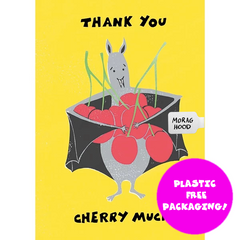 Morag Hood I am Bat Thank You Card