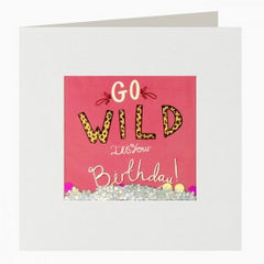 Go Wild Shakies Birthday Card