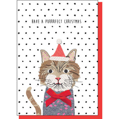 Purrrfect Christmas Card