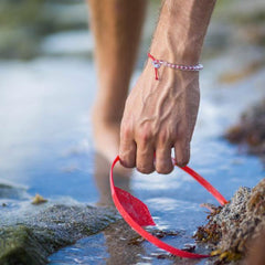 4Ocean Overfishing Red Bracelet