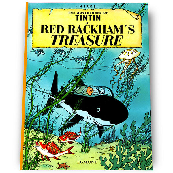 Red Rackham's Treasure Softback Book
