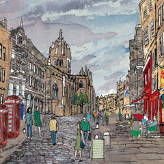 Royal Mile Edinburgh Coaster