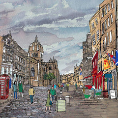 Royal Mile Edinburgh Placemat