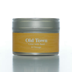 Paper Tiger Old Town Lime Basil & Orange Small Candle Tin