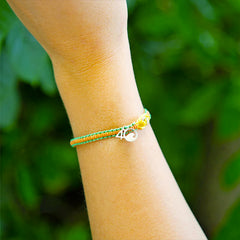 4Ocean Sea Star Braided Bracelet