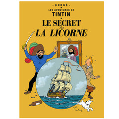 The Secret of the Unicorn Tintin Poster