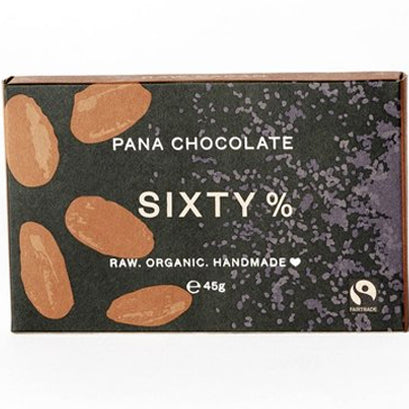 Sixty % Cacao Chocolate Bar