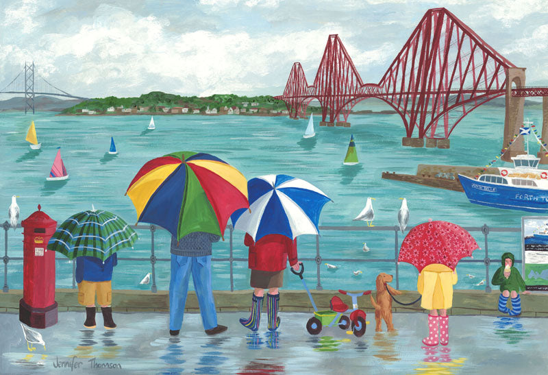A Rainy Afternoon, South Queensferry Card