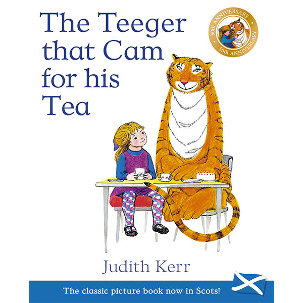The Teeger that Cam for his Tea