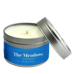 Paper Tiger The Meadows Lemongrass & Lavender Small Candle Tin