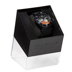 Tintin Watch - Tintin and Haddock on the Moon- Sports Strap - Medium