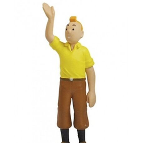 Figure Large Tintin Yellow Shirt 8cm