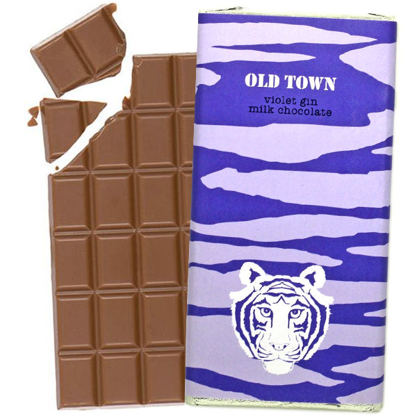 Violet Gin Milk Chocolate