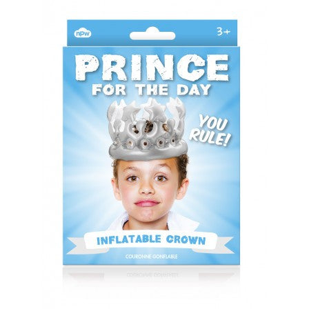Prince For The Day Inflatable Crown