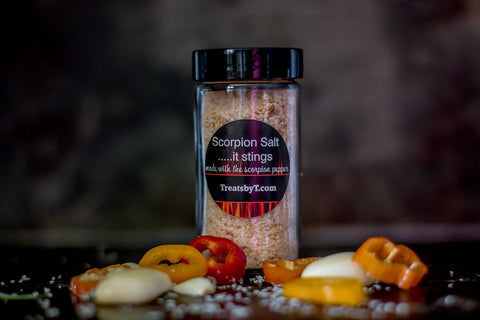 Scorpion Hot Pepper Salt